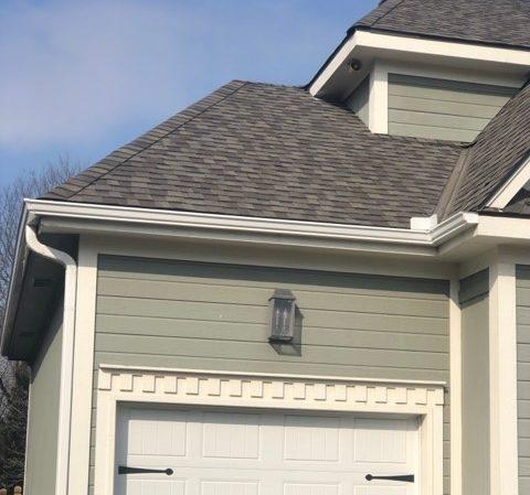 Buck Roofing-Kansas and Missouri-Residential-Gutters-Gutter Installation-Gutter Images- Gutter Pictures-Downspout