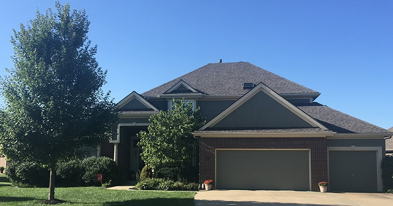 Buck Roofing - Kansas and Missouri - Residential Roofing - Certainteed Landmark - Weathered Wood