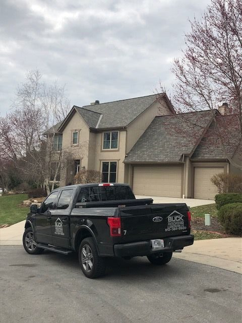 KC residential roofing company - Buck Roofing Kansas and Missouri - Certainteed Grand Manor - Weathered Wood - Ridgevent