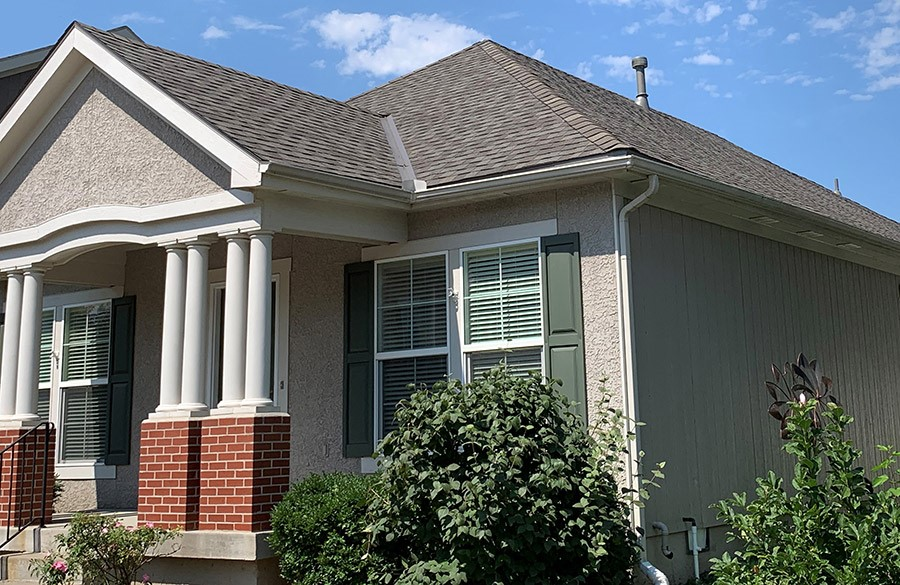 Buck Roofing - Residential Roofing - Kansas and Missouri - Certainteed Landmark - Weathered Wood