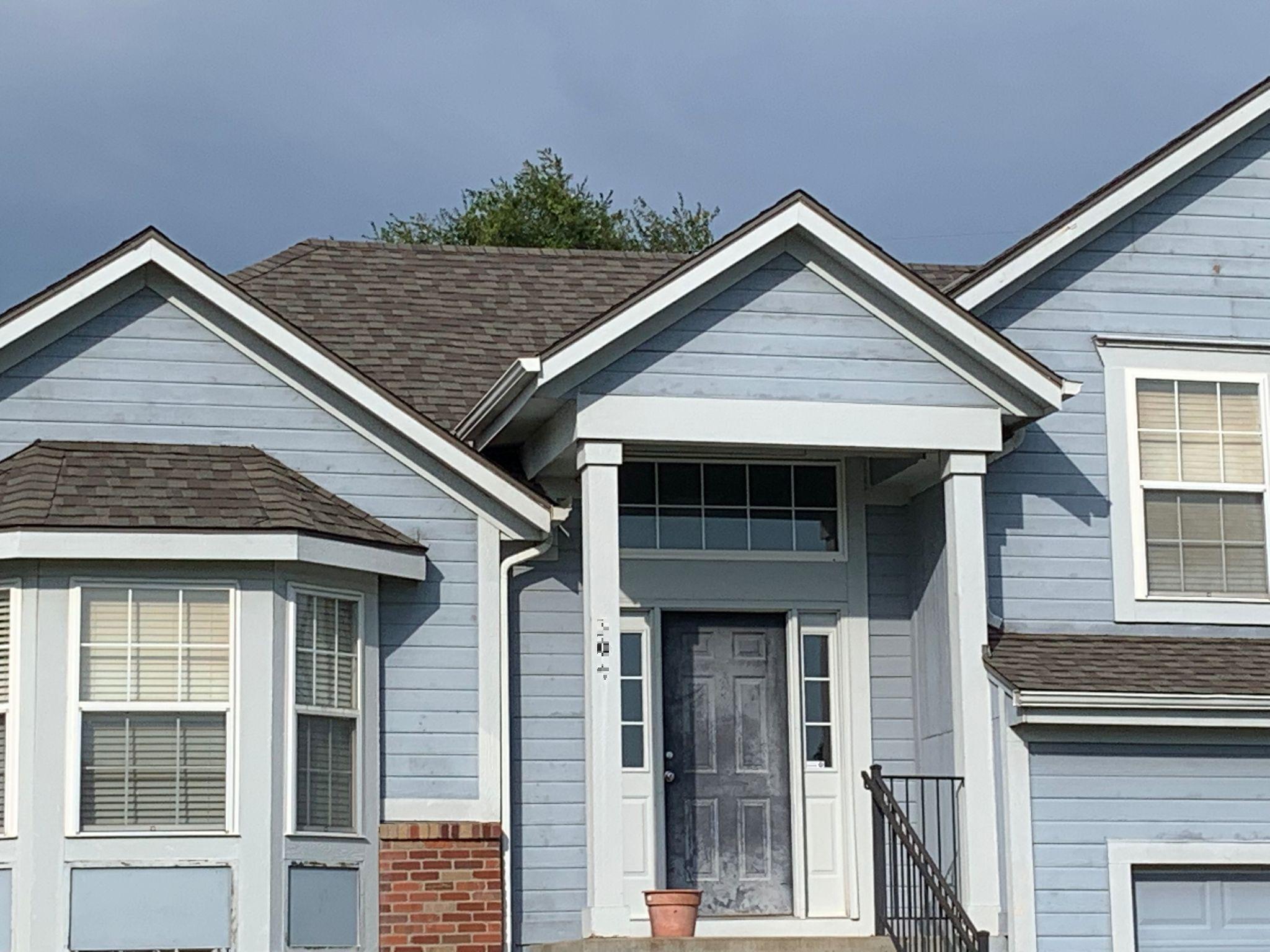 residential roofing company - buck roofing - kansas and missouri - certainteed landmark - weathered wood