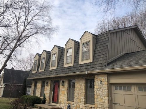 Buck Roofing - Residential Roofing, Kansas City, CertainTeed Grand Manor, Weathered Wood