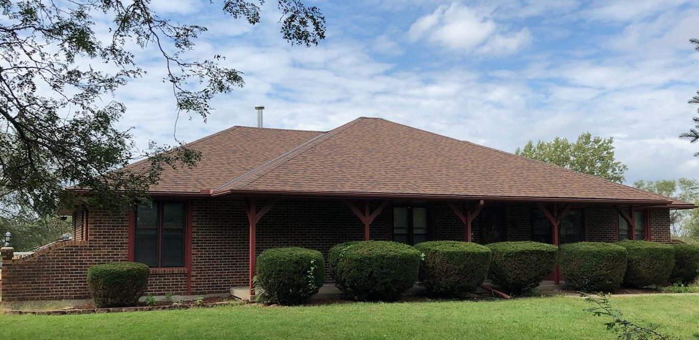 Buck Roofing - Residential Roofing - Kansas and Missouri - Certainteed Landmark - Burnt Sienna - Certainteed Shadow Ridge