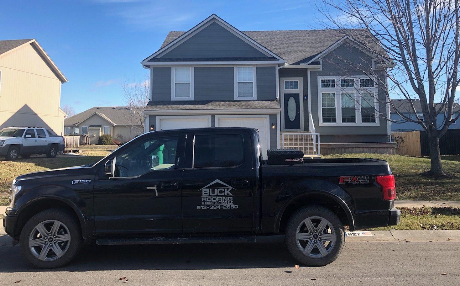 Buck Roofing - Residential Roofing Company - Kansas and Missouri - Certainteed Landmark - Weathered Wood