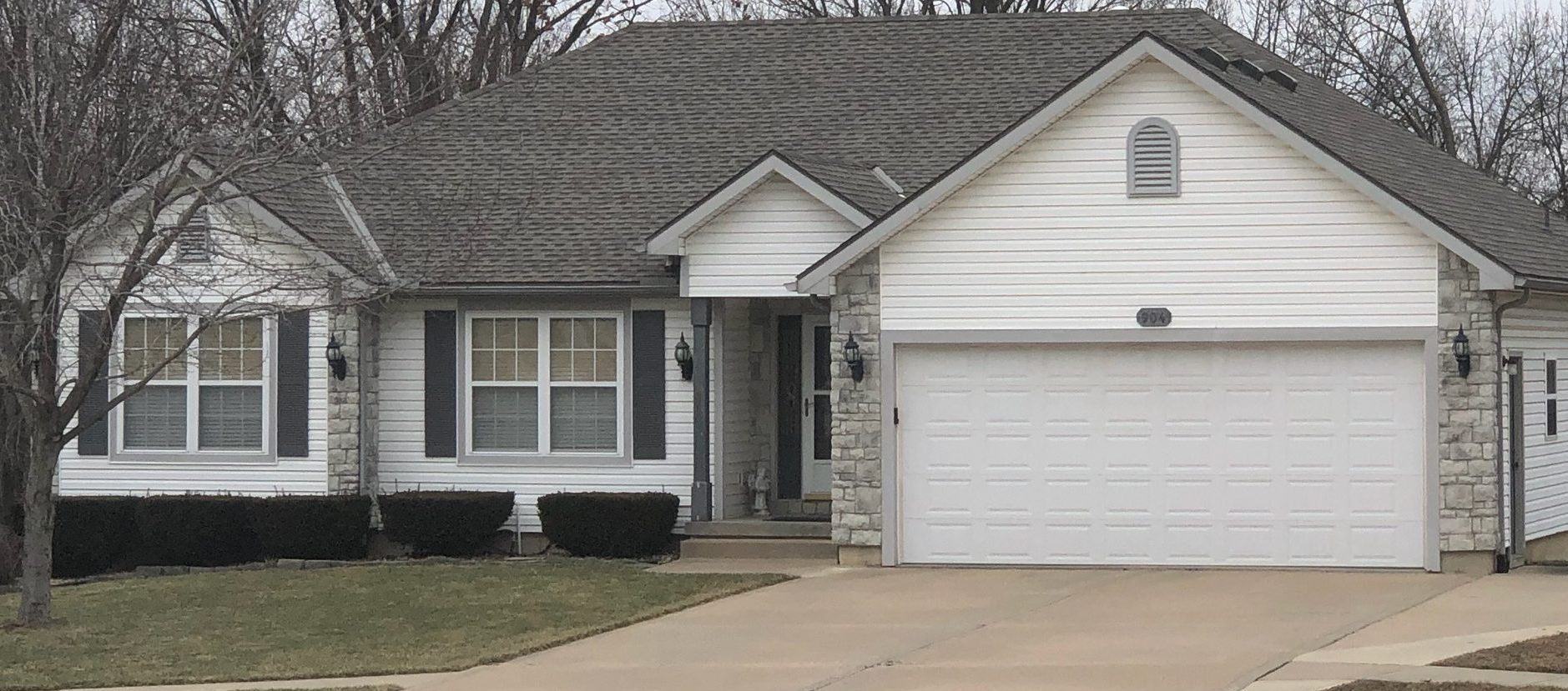 Buck Roofing - Residential Roofing Company - Kansas and Missouri - GAF Timberline HD - Weathered Wood