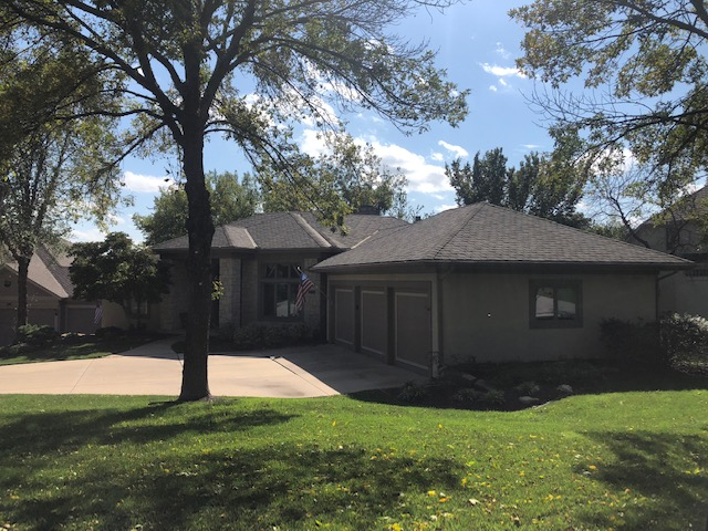 KC residential roofing company - Buck Roofing Kansas and Missouri - GAF - Camelot- Weathered Wood