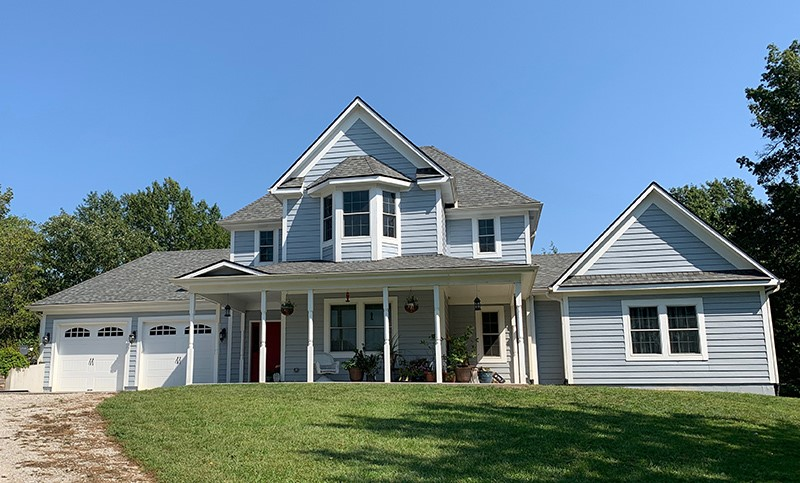 Buck Roofing-Kansas and Missouri-Residential-Certainteed Landmark Pro-Georgetown Gray
