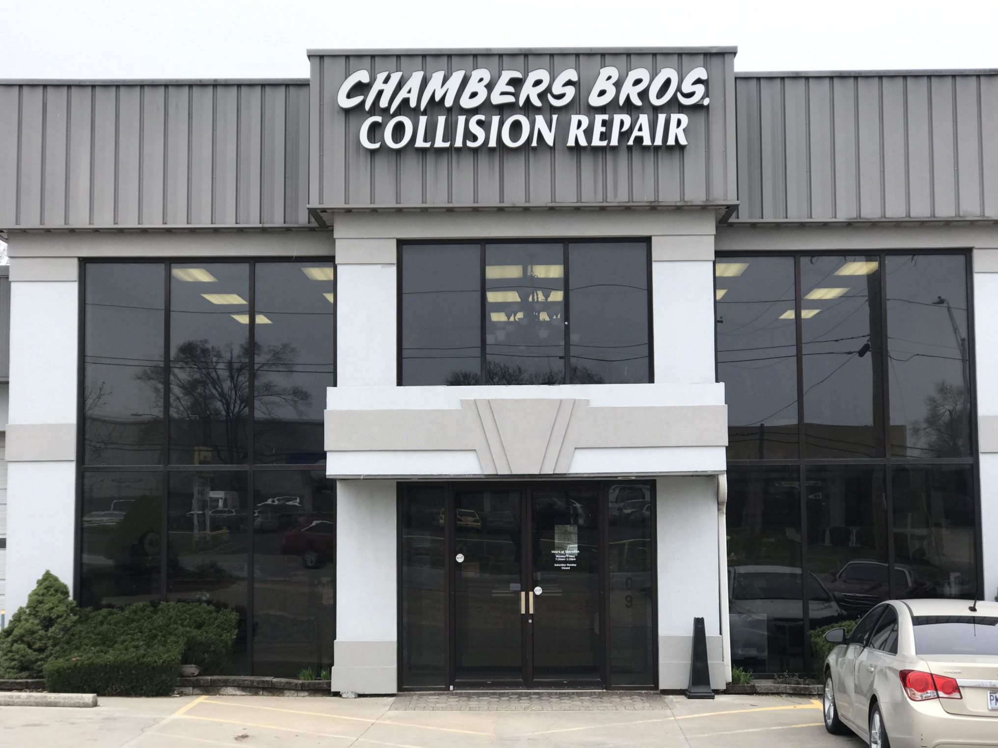 Chamber Brothers Collision, Grandview, MO