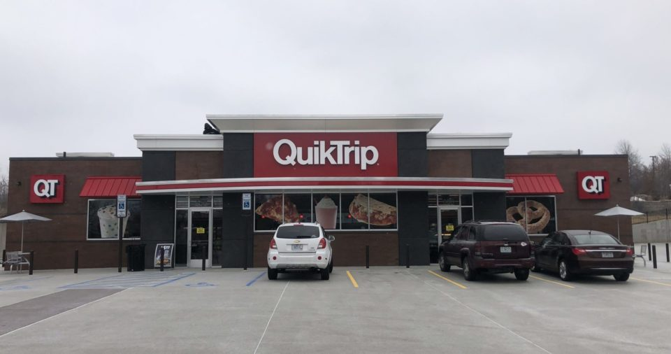 Buck Roofing Commercial Project - QuikTrip - Kansas City, MO