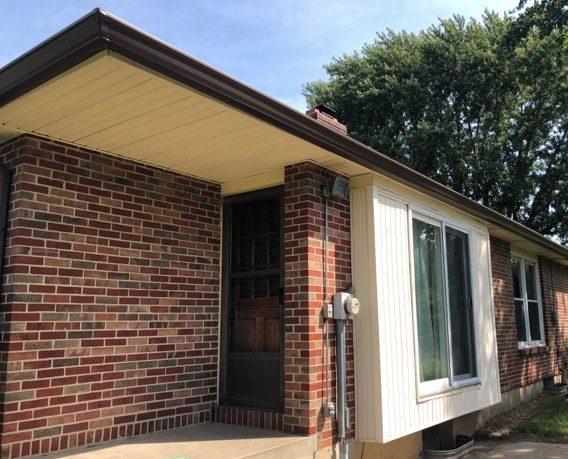 Buck Roofing-Gutters-Kansas and Missouri-Residential-Gutter Images