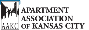AAKC logo - Buck Roofing provides roofing for apartments in Kansas City through the Apartment Association of Kansas City