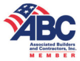 Associate Builders and Contractors, Inc. logo - Buck Roofing is a proud member of ABC