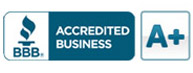 Better Business Bureau A+ - Buck Roofing is an A+ rated accredited business by the Better Business Bureau