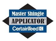 Master Shingle Applicator certified by CertainTeed - Buck Roofing provides superior quality for residential roofing in Kansas City & Manhattan, KS