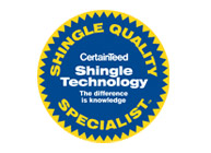 CertainTeed Shingle Quality Specialist - Buck Roofing provides superior quality for residential roofing in Kansas City & Manhattan, KS