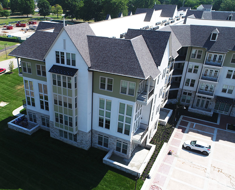 Buck Roofing - Commercial Multi-Family Project - Kessler Meadowbrook Apartments - Prairie Village, KS