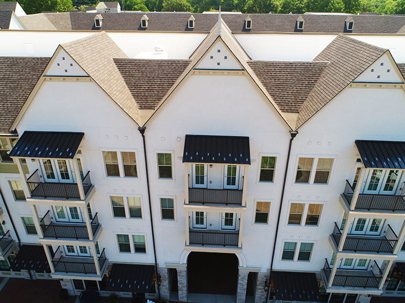 Buck Roofing, Commercial Multi-Family Complex - Kessler Meadowbrook Apartments - Prairie Village, KS