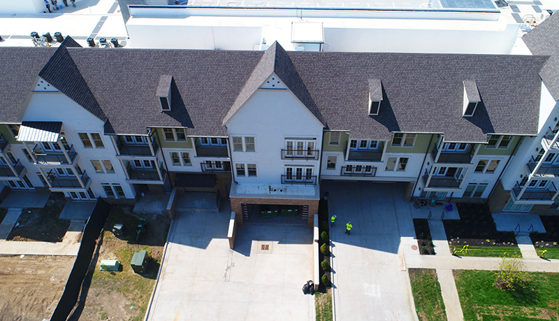 Buck Roofing - Commercial Multi-Family Project - Kessler Meadowbrook Apartments - Prairie Village, KS