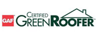 GAF Green Roofer certification - Buck Roofing is certified by GAF as a green roof installer for Kansas City and Manhattan, KS