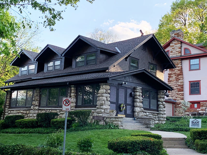 Buck Roofing - Residential Roofing - Kansas and Missouri - Certainteed Landmark- Weathered Wood